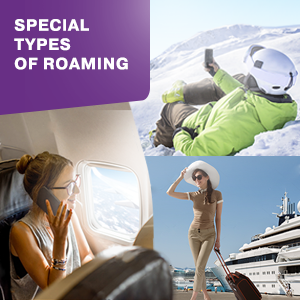 Specific types of roaming